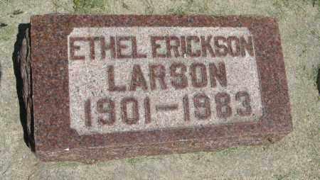 LARSON, ETHEL - Knox County, Nebraska | ETHEL LARSON - Nebraska Gravestone Photos