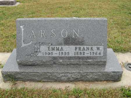 LARSON, EMMA - Knox County, Nebraska | EMMA LARSON - Nebraska Gravestone Photos