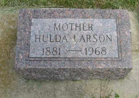 LARSON, HULDA - Knox County, Nebraska | HULDA LARSON - Nebraska Gravestone Photos