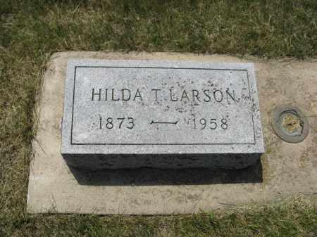 LARSON, HILDA T. - Knox County, Nebraska | HILDA T. LARSON - Nebraska Gravestone Photos