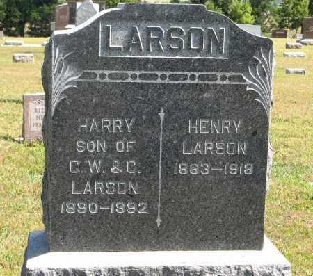 LARSON, HENRY - Knox County, Nebraska | HENRY LARSON - Nebraska Gravestone Photos