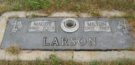 LARSON, MILTON - Knox County, Nebraska | MILTON LARSON - Nebraska Gravestone Photos