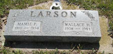 LARSON, MAMIE P. - Knox County, Nebraska | MAMIE P. LARSON - Nebraska Gravestone Photos