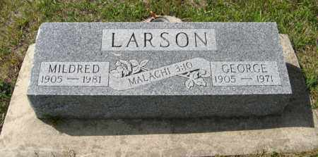 LARSON, MILDRED - Knox County, Nebraska | MILDRED LARSON - Nebraska Gravestone Photos