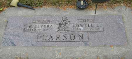 LARSON, R. ELVERA - Knox County, Nebraska | R. ELVERA LARSON - Nebraska Gravestone Photos