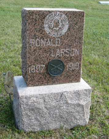 LARSON, RONALD - Knox County, Nebraska | RONALD LARSON - Nebraska Gravestone Photos