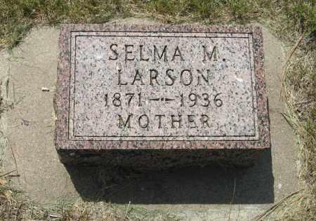 LARSON, SELMA M. - Knox County, Nebraska | SELMA M. LARSON - Nebraska Gravestone Photos