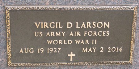 LARSON, VIRGIL D. (MILITARY) - Knox County, Nebraska | VIRGIL D. (MILITARY) LARSON - Nebraska Gravestone Photos