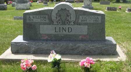 LIND, A. WILLIAM - Knox County, Nebraska | A. WILLIAM LIND - Nebraska Gravestone Photos