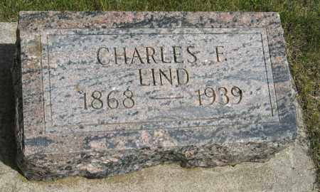 LIND, CHARLES F. - Knox County, Nebraska | CHARLES F. LIND - Nebraska Gravestone Photos
