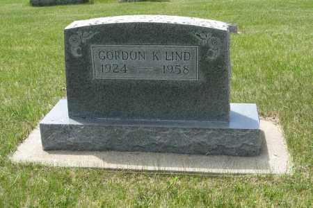 LIND, GORDON K. - Knox County, Nebraska | GORDON K. LIND - Nebraska Gravestone Photos