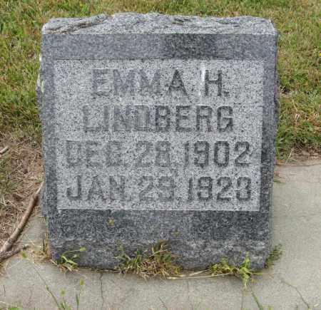 LINDBERG, EMMA H. - Knox County, Nebraska | EMMA H. LINDBERG - Nebraska Gravestone Photos