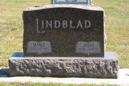 LINDBLAD, MABLE - Knox County, Nebraska | MABLE LINDBLAD - Nebraska Gravestone Photos