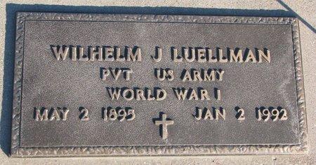LUELLMAN, WILHELM J. - Knox County, Nebraska | WILHELM J. LUELLMAN - Nebraska Gravestone Photos