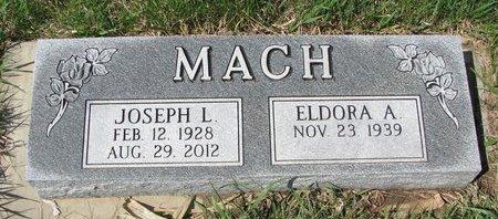 MACH, ELDORA A. - Knox County, Nebraska   ELDORA A. MACH - Nebraska Gravestone Photos