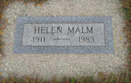 MALM, HELEN - Knox County, Nebraska | HELEN MALM - Nebraska Gravestone Photos