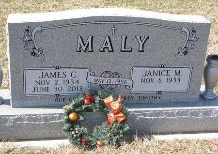MALY, JAMES C. - Knox County, Nebraska | JAMES C. MALY - Nebraska Gravestone Photos