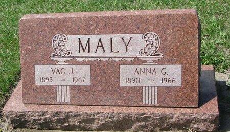 MALY, VAC J. - Knox County, Nebraska | VAC J. MALY - Nebraska Gravestone Photos