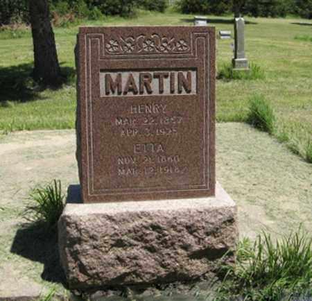 MARTIN, HENRY - Knox County, Nebraska | HENRY MARTIN - Nebraska Gravestone Photos