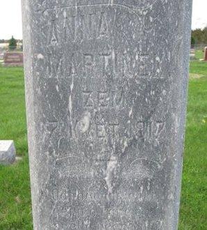MARTINEK, ANNA (CLOSE UP) - Knox County, Nebraska | ANNA (CLOSE UP) MARTINEK - Nebraska Gravestone Photos