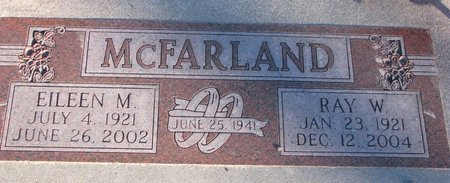 MCFARLAND, EILEEN M. - Knox County, Nebraska | EILEEN M. MCFARLAND - Nebraska Gravestone Photos