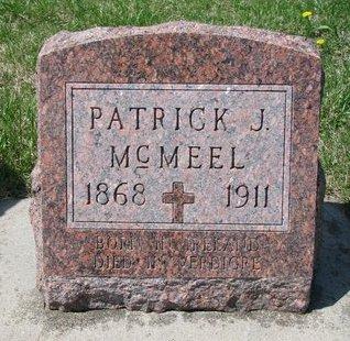 MCMEEL, PATRICK J. - Knox County, Nebraska | PATRICK J. MCMEEL - Nebraska Gravestone Photos