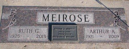 KOSANKE MEIROSE, RUTH GERDA - Knox County, Nebraska | RUTH GERDA KOSANKE MEIROSE - Nebraska Gravestone Photos
