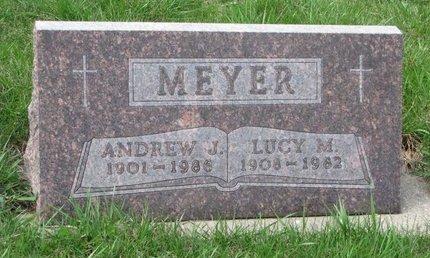 MEYER, LUCY MARY - Knox County, Nebraska   LUCY MARY MEYER - Nebraska Gravestone Photos