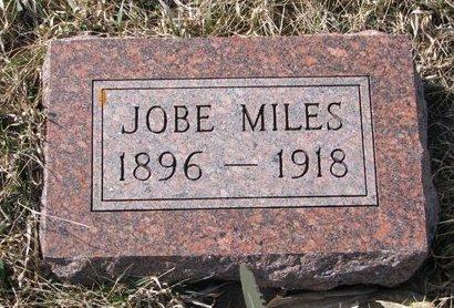 MILES, JOBE - Knox County, Nebraska   JOBE MILES - Nebraska Gravestone Photos