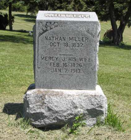 MILLER, MERCY J. - Knox County, Nebraska | MERCY J. MILLER - Nebraska Gravestone Photos