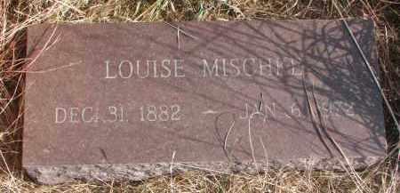 MISCHKE, LOUISE - Knox County, Nebraska | LOUISE MISCHKE - Nebraska Gravestone Photos