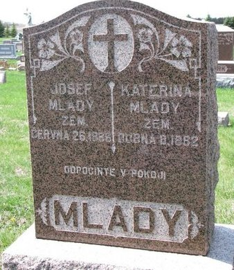 MLADY, JUSEF - Knox County, Nebraska | JUSEF MLADY - Nebraska Gravestone Photos
