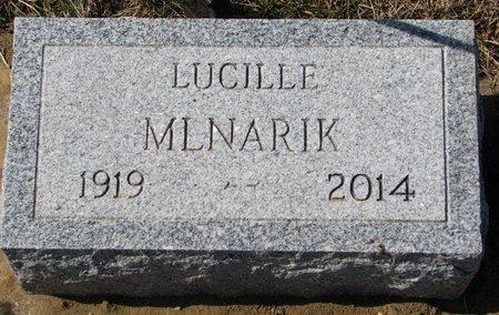 "MLNARIK, GRAYCE LUCILLE MULLINS ""LUCILLE"" - Knox County, Nebraska | GRAYCE LUCILLE MULLINS ""LUCILLE"" MLNARIK - Nebraska Gravestone Photos"