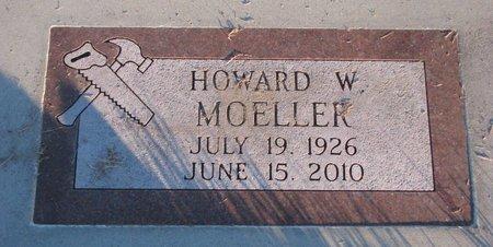 MOELLER, HOWARD W. - Knox County, Nebraska | HOWARD W. MOELLER - Nebraska Gravestone Photos