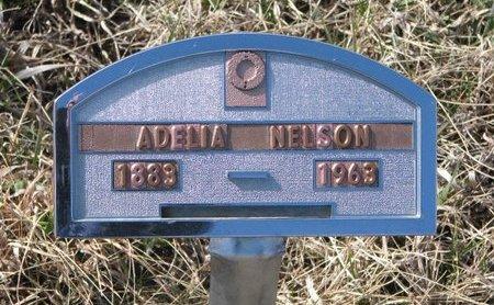 "REYNOLDS NELSON, ADELIA ""DELIA"" - Knox County, Nebraska | ADELIA ""DELIA"" REYNOLDS NELSON - Nebraska Gravestone Photos"
