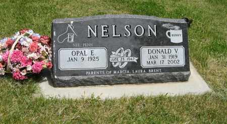 PENN NELSON, OPAL E - Knox County, Nebraska | OPAL E PENN NELSON - Nebraska Gravestone Photos
