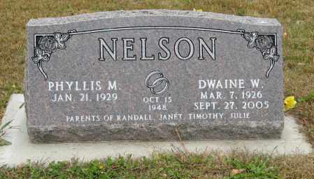 NELSON, DWAINE W. - Knox County, Nebraska | DWAINE W. NELSON - Nebraska Gravestone Photos