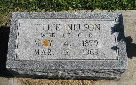 NELSON, TILLIE - Knox County, Nebraska | TILLIE NELSON - Nebraska Gravestone Photos