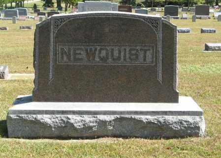 NEWQUIST, (FAMILY MONUMENT) - Knox County, Nebraska | (FAMILY MONUMENT) NEWQUIST - Nebraska Gravestone Photos
