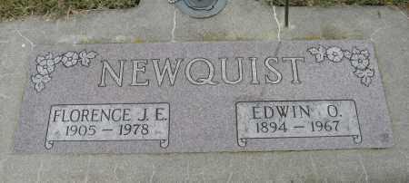 NEWQUIST, EDWIN O. - Knox County, Nebraska | EDWIN O. NEWQUIST - Nebraska Gravestone Photos