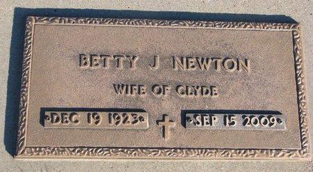 NEWTON, BETTY J. - Knox County, Nebraska   BETTY J. NEWTON - Nebraska Gravestone Photos