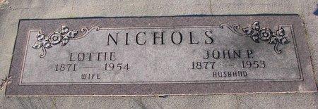 NICHOLS, LOTTIE - Knox County, Nebraska   LOTTIE NICHOLS - Nebraska Gravestone Photos