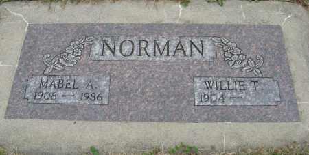 NORMAN, MABEL A. - Knox County, Nebraska | MABEL A. NORMAN - Nebraska Gravestone Photos