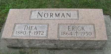 NORMAN, ERICK - Knox County, Nebraska | ERICK NORMAN - Nebraska Gravestone Photos