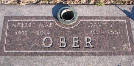 WOODS OBER, NELLIE MAE - Knox County, Nebraska | NELLIE MAE WOODS OBER - Nebraska Gravestone Photos