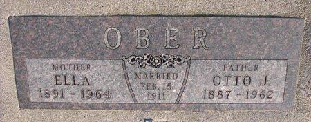 OBER, OTTO J. - Knox County, Nebraska | OTTO J. OBER - Nebraska Gravestone Photos