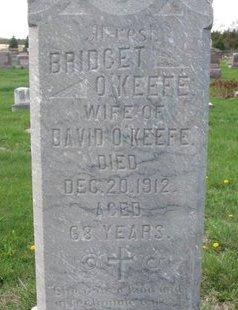 O'KEEFE, BRIDGET (CLOSE UP) - Knox County, Nebraska | BRIDGET (CLOSE UP) O'KEEFE - Nebraska Gravestone Photos