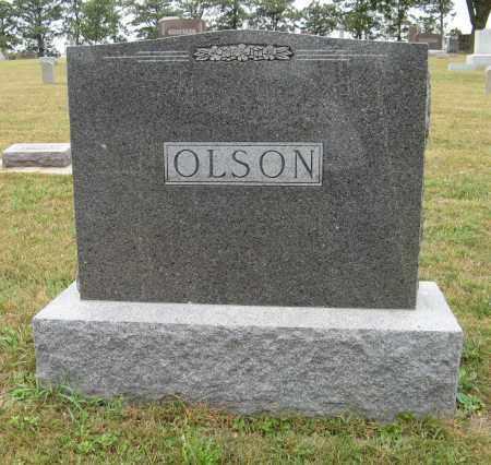 OLSON, (FAMILY MONUMENT) - Knox County, Nebraska | (FAMILY MONUMENT) OLSON - Nebraska Gravestone Photos