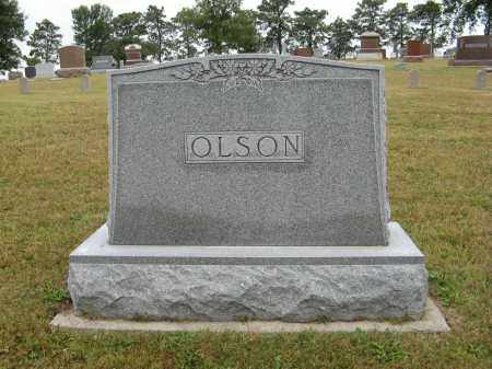 OLSON, (FAMILY MONUMENT) - Knox County, Nebraska | (FAMILY MONUMENT) OLSON - Nebraska Gravestone Photos