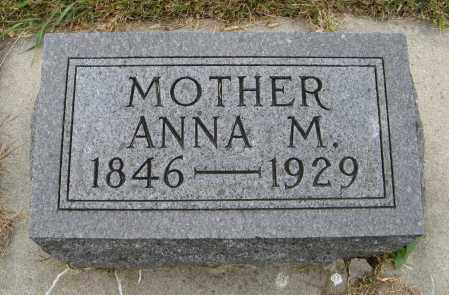OLSON, ANNA M. - Knox County, Nebraska | ANNA M. OLSON - Nebraska Gravestone Photos